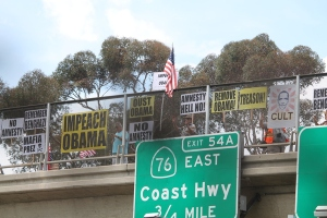 Oceanside Protest