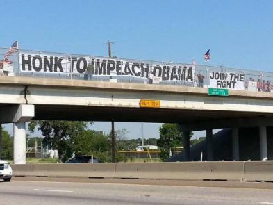 Pittsburgh Overpasses for Obama's Impeachment