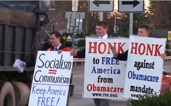 HONK to free America from Obamacare