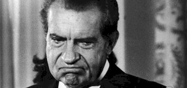 Only Nixon's approval lower than Obama's