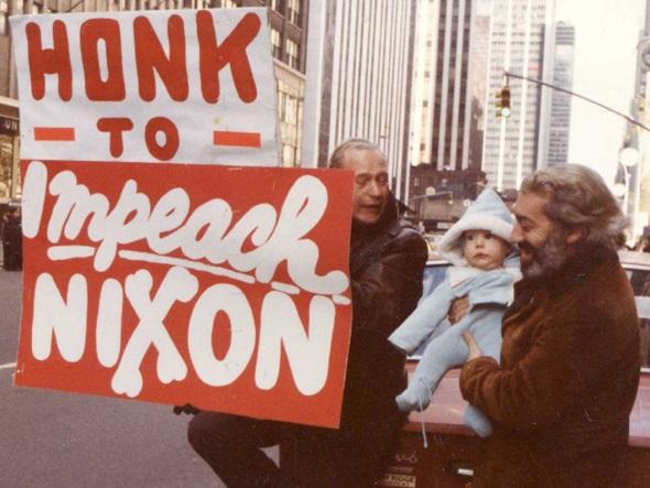Impeachment Of Nixon to honk for impeachment