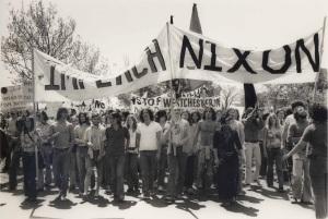 Impeach Nixon Demo (1974)