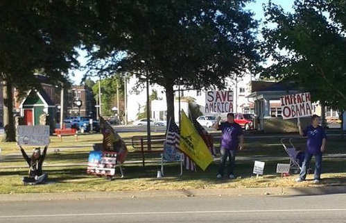 Impeach Obama Rally - Mercer Co, Illinois
