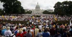 Tea Party March on Washington.