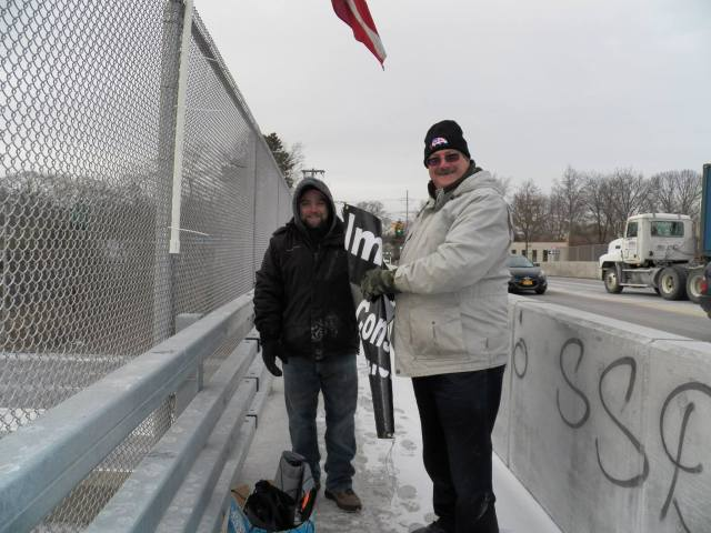 Patriots for Obama's Impeachment Demo (Long Island, NY)