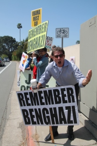 Obama Fundraiser in La Jolla