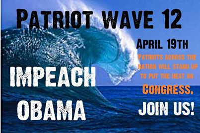 Patriot Wave 12 - Impeach Obama