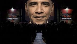 Broadcast media brainwashing for Obama