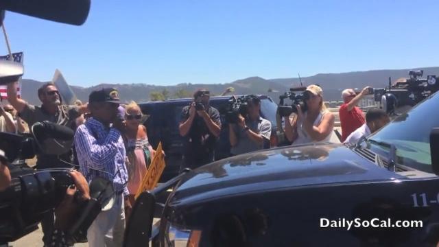Raymond Herrera brings  caravan of illegal aliens to a dead stop.