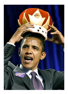 King Obama  Side panel sticker
