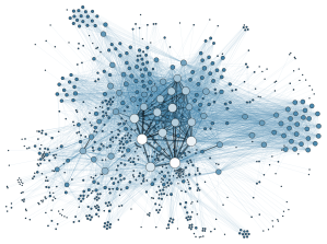 Mapping social networks of suspects