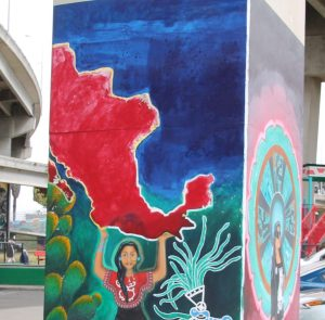 Chicano Park Mural Greater Mexico
